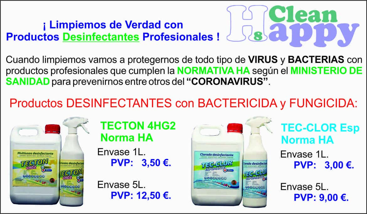 PRODUCTOS QUÍMICOS HAPPY CLEAN